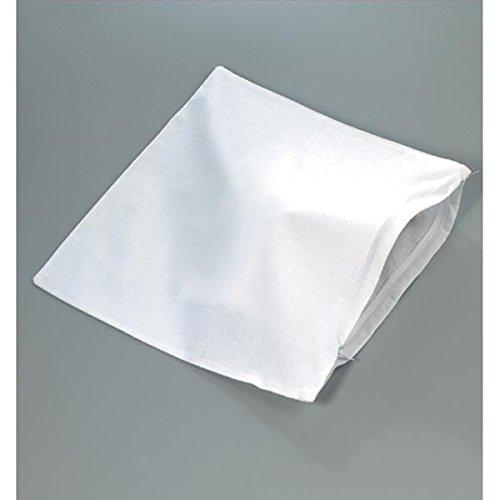 Efco Kissenbezug 100% Baumwolle, weiß gebleicht, 40 x 40 cm