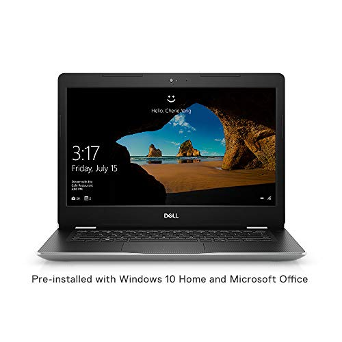 Dell Inspiron 3480 14-inch Thin & Light Laptop (8th Gen Intel Core i5-8265U/8GB/1TB HDD/Window 10 Home + MS Office/Intel UHD Graphics), Silver