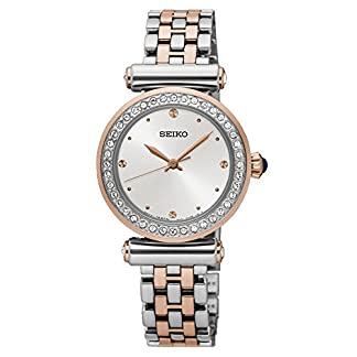Seiko Analog White Dial Women's Watch – SRZ466P1