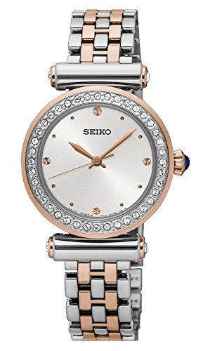 Seiko Analog White Dial Women's Watch - SRZ466P1