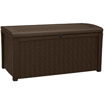 Keter Eden Bench Outdoor Storage Box Garden Furniture 140
