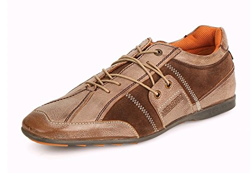 Buckaroo Men's Westin Camel Leather Sneakers - 11 UK/India (45 EU)  available at amazon for Rs.1977