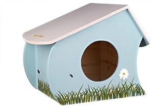 Trixie Honey & Hopper Wooden House For Guinea Pigs, 35X25 23cm