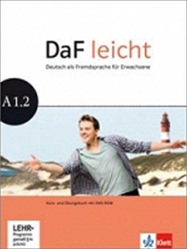 DaF leicht a1.2, libro del alumno y libro de ejercicios + dvd-rom