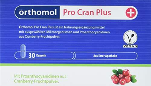 Orthomol Pro Cran Plus 30er Kapseln Nahrungsergänzungsmittel - Mikroorganismen & Probiotika aus Cranberry Fruchtpulver