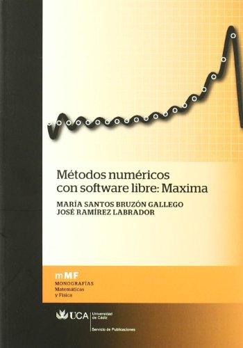 Métodos numéricos con software libre: Maxima (Monografías. Matemáticas y Física)