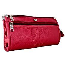 Flora Maroon Women's Wallet