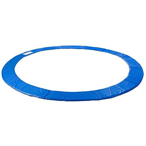 Arebos Trampolin Randabdeckung / 183, 244, 305, 366, 396, 457 oder 487 cm/blau (blau, 396 cm)
