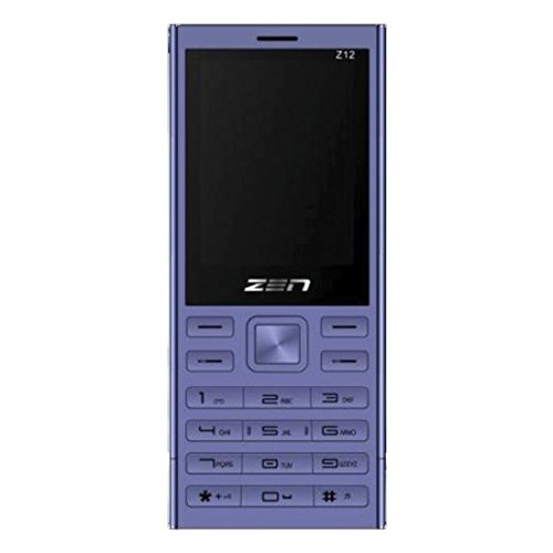 ZEN Z12 Silk Dual SIM Feature Phone (Purple)