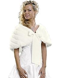 Elegant faux fur stole (E22)