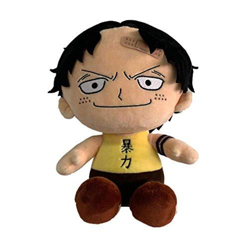 ypzz Giocattolo della Peluche, Bambola comica del Fumetto del re di Vela di Un Pezzo, Gettare la Peluche, lenire la Bambola, Cuscino, Ultra-Morbido, 60cm Ragazzo violento