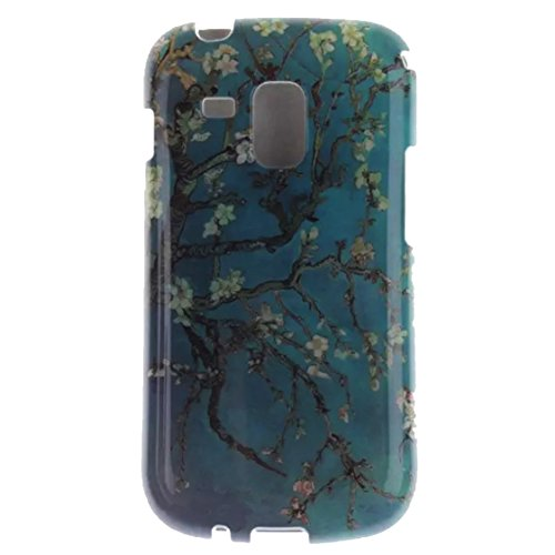 AYASHO® TPU Silikon Schutzhülle Handyhülle Case Für Samsung S Duos S7562 (GT-S7562 / S7560M Galaxy Ace II X)/Samsung Galaxy S Duos / S Duos 2 (GT-S7562 / GT-S7582) , 0.2m daten usb kabel enthalten , A27
