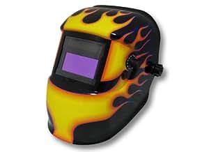 Cagoule de soudure solair - Masque de soudage automatique BLACK FLAME