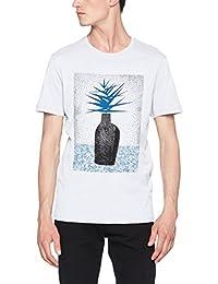 SELECTED HOMME Herren T-Shirt Shdnoam Ss O-Neck Tee