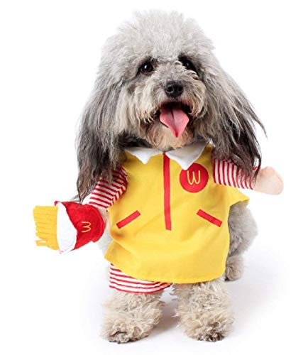 Pro Kostüm Mac - Inception Pro Infinite Kostüm - Verkleidung - Fast Food - Mac Donalds - Verkaufsangebot - Hund (S)