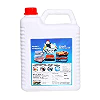 Laundryman Advanced formulated special clothes washing liquid detergent For top load and front Load, 5 litre
