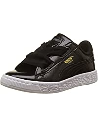 Puma Basket Heart Glam Ps, Sneakers Basses Mixte Enfant
