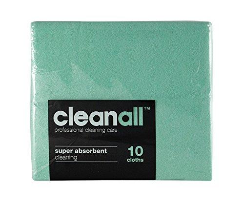 cleanall jcc10g janitors panno, Super assorbente, colore: verde (Confezione da 24)