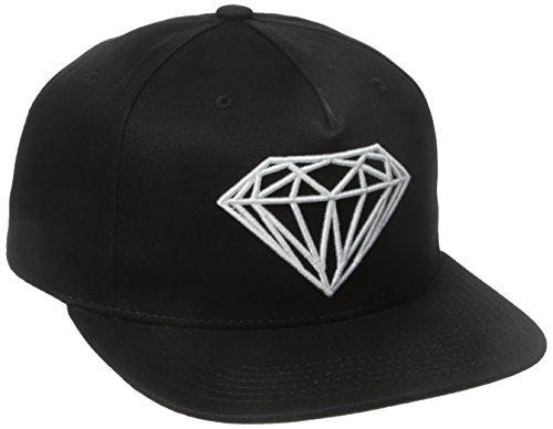 Diamond Supply Co. Herren Brilliant Snapback - Schwarz - Einheitsgröße (Diamond Snapback Supply)