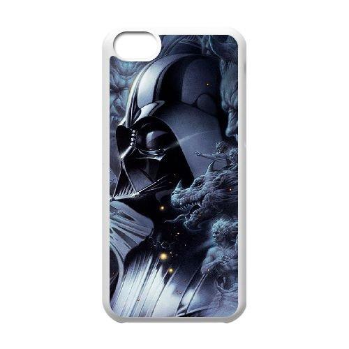Darksiders coque iPhone 5C Housse Blanc téléphone portable couverture de cas coque EBDXJKNBO14753