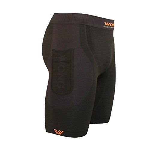 Wong Malla Compresion Trail Running Gris