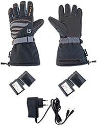 Alpenheat Beheizter Ski Snowboard oder Motorradhandschuh