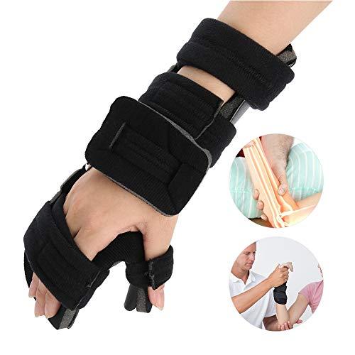 Tutore per polso per alleviare il dolore al polso, regolabile, supporto da polso per la stabilizzazione della mano, per il fissaggio e la correzione, tunnel carpale