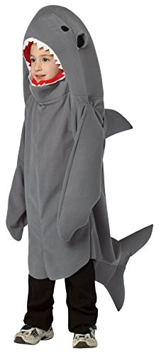 der - 4 bis 6 Jahre (Kleiner Junge Hai Kostüm)