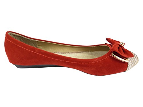 Chaussmaro - Scarpe eleganti Donna Rosso