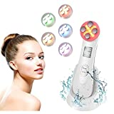 Ultraschallgerät Schönheit Gerät Face Massager Radio Frequenz Photon Licht Facial Anti Falten Anti Aging Akne Hautstraffung der Hautverjüngung USB-Aufladung MEHRWEG