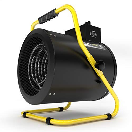 Calentador industriales Alta Potencia 3kw Ventilador eléctrico Comercial termoeléctrico de Velocidad de...