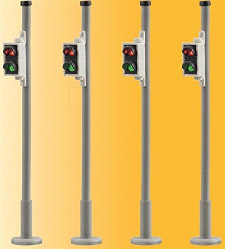 H0 VI 4er-Set Fußgängerampel pass. 5095