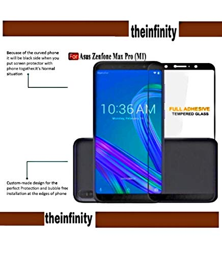 Asus zenfone max pro m1 Tempered Glass Screen Protector for SuperdealsForTheinfinity