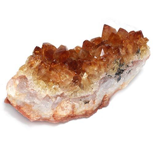 CrystalAge Citrin-Cluster - Medium -