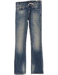 MAISON SCOTCH dégradé Bleu Jean Bootcut Mélange de coton Taille 29 WP 627/32