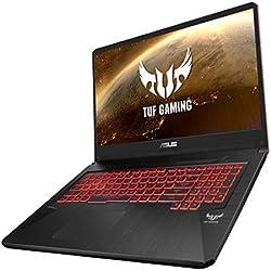 """Asus TUF705GD-EW081T PC Portable Gamer 17,3"""" Noir (Intel Core i5, RAM 8 Go, 1 to + SSD 128 Go, Nvidia GTX 1050 4 Go, Windows 10) Clavier AZERTY Français"""