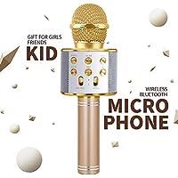 DIMU Niños Micrófono Juguetes para Niña Niño, Regalo de cumpleaños Regalo para niños de 5-9 años Cantando Micrófono Bluetooth para niñas Niños de 6-12 años