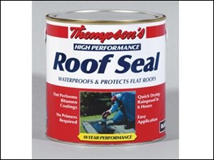 Ronseal HPRSBL4L Thompsons High Performance Roof Seal Black 4 Litre Test