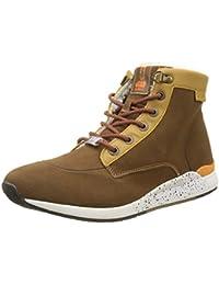 Kickers 508170-60-8 - Zapatillas de Deporte de Otra Piel Hombre, Negro (Negro (Noir 8)), 40 EU amazon-shoes el-negro Cuero