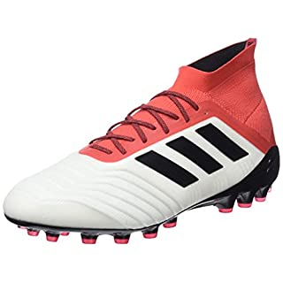 adidas Men's's Predator 18.1 Ag Footbal Shoes White Ftwwht/Cblack/Reacor 10 UK