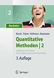 Quantitative Methoden 2. Einführung in die Statistik für Psychologen und Sozialwissenschaftler (Springer-Lehrbuch)