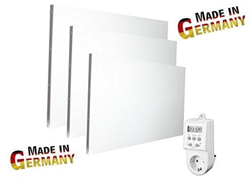 Infrarotheizung Made in Germany - verschiedene Varianten - 450, 700, 900, 1100 Watt (IHD 900 Watt + Thermostat TS 05)