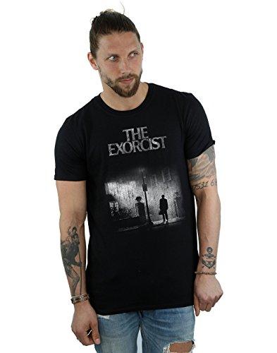 The Exorcist Hombre Mono Distressed Poster Camiseta