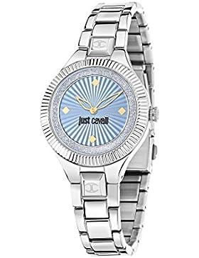 Just Cavalli Damen Uhrenbeweger Collection JUST INDIE Edelstahl silber R7253215504