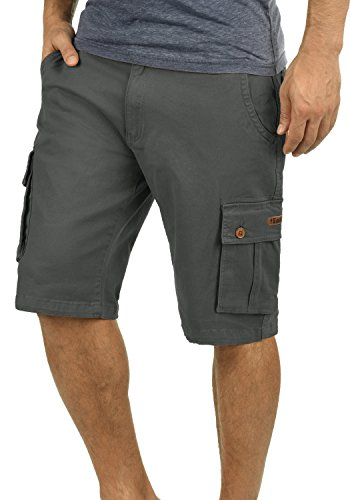 SOLID Lixa Cargo Shorts, Größe:XL, Farbe:Dark Grey (2890) (Co Stil Top T-shirt &)