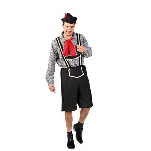 Limit Sport Herren Hosenträger-Kostüm Oktoberfest, Größe M (ma727)