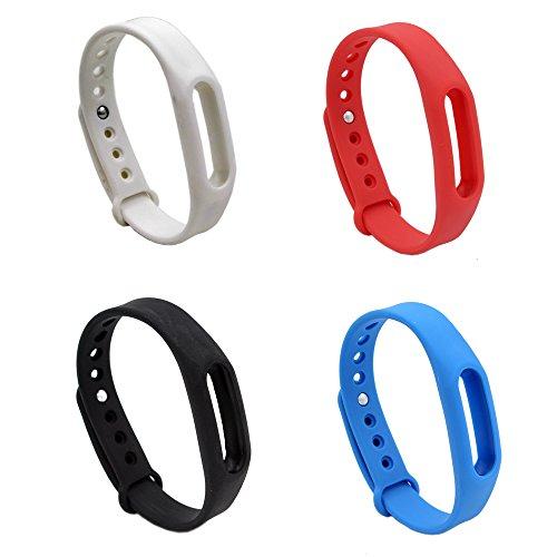 Pinhen Xiaomi Ersatz-Armband für Xiaomi Mi Band/Xiaomi Mi Band s1 Pluse Smart-Handgelenk, wasserdichtes Armband