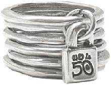 Comprar Uno de 50 Prisionero - Anillo de plata