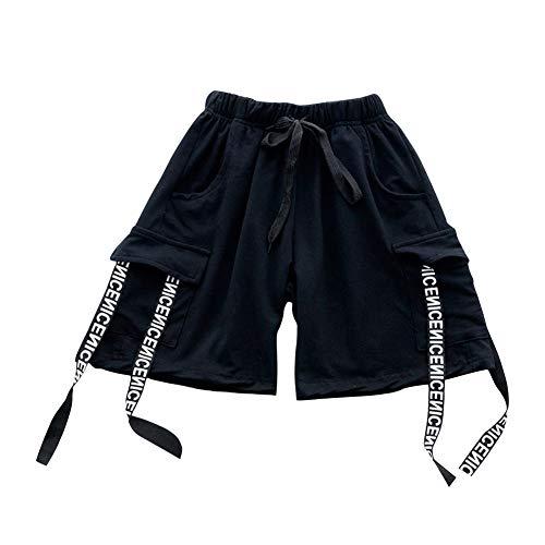 Tenthree Tanzen Jazz Performance Jungen T Shirts - Kinder Shorts Anzüge Hip Hop Modern Bühne Freestyle Sets Kostüme ()