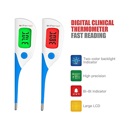 Digital Oral Thermometer Fast Reading